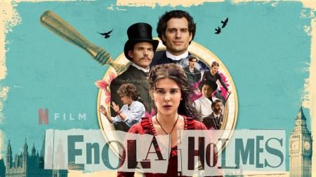 В детективном фильме Enola Holmes / «Энола Холмс» Генри Кавилл играет Шерлока Холмса, а Милли Бобби Браун — его младшую сестру. Премьера на Netflix состоится 23 сентября 2020 года [трейлер]