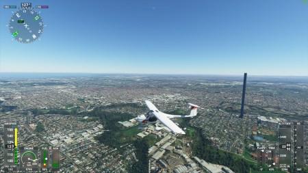 Огромное 212-этажное сооружение возникло в Microsoft Flight Simulator из-за обычной опечатки