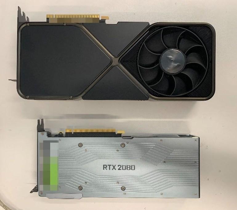 Видеокарта NVIDIA GeForce RTX 3090 засветилась на фотографиях: трёхслотовый гигант с 12-контактным коннектором питания