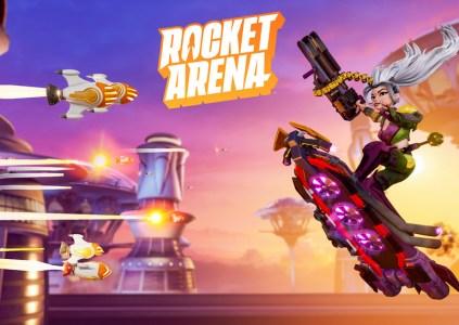 Rocket Arena: пустая арена