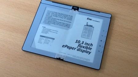E Ink показала прототип сгибаемого ридера с поддержкой пера Wacom
