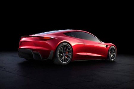 Илон Маск: Серийный электромобиль Tesla Roadster получит колеса с единственной гайкой по центру, как у гоночных болидов Formula 1
