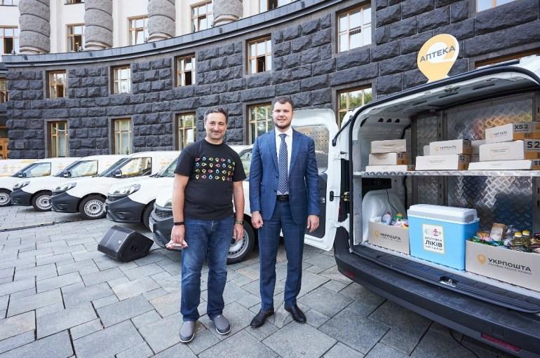 """""""Укрпошта"""" запустила передвижные отделения на основе Fiat Doblo в шести областях страны, к 2021 году количество ПОПС вырастет до 2000 и охватит всю Украину"""