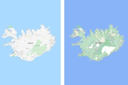 Крупное визуальное обновление Google Maps — более высокая детализация улиц и природных объектов
