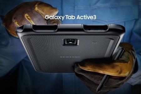 Samsung представила 8-дюймовый защищенный планшет Galaxy Tab Active3 с «горячей»заменой аккумулятора