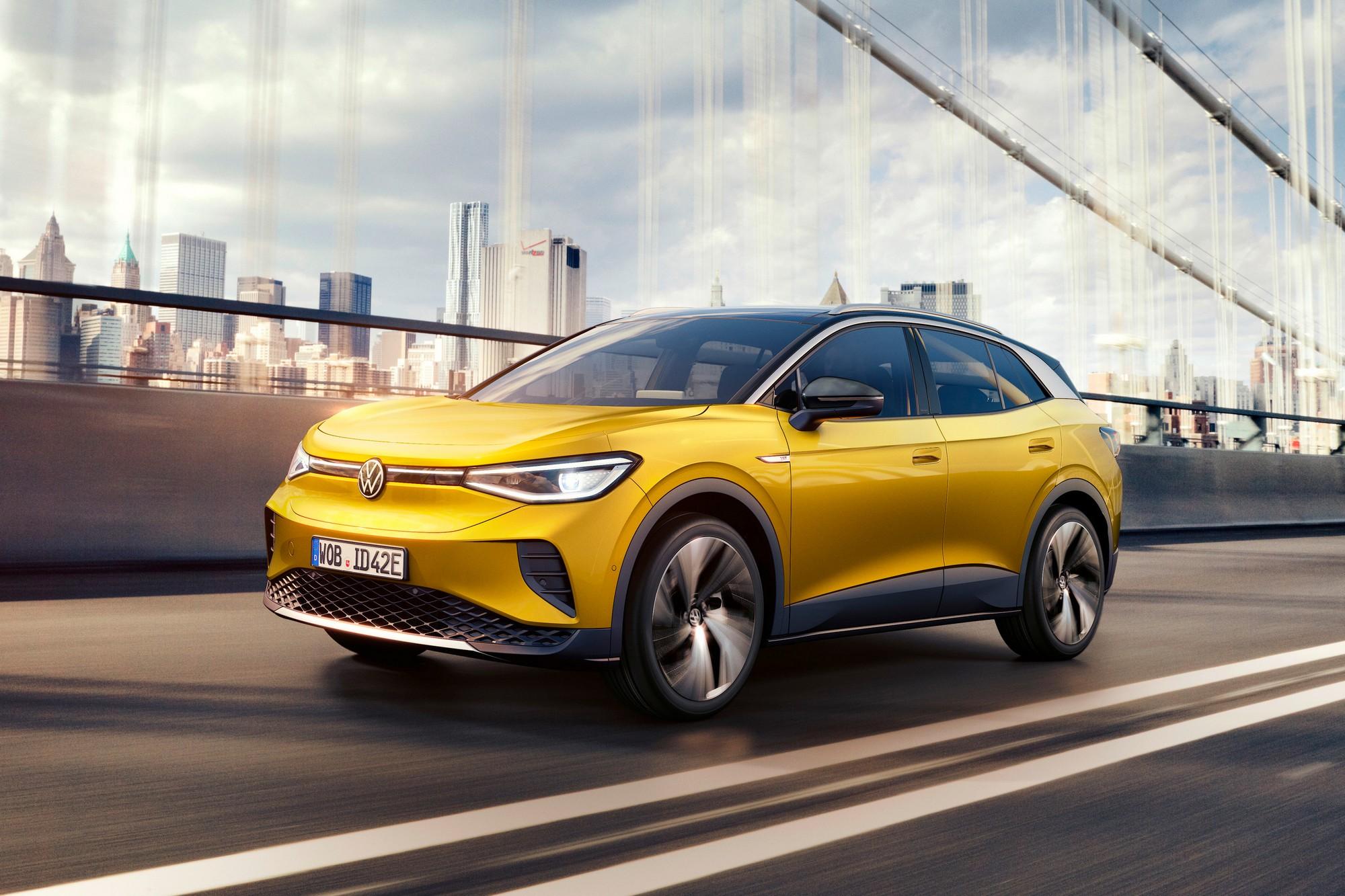 Электрокроссовер Volkswagen ID.4 представлен официально: мощность от 200  л.с., запас хода 520 км (WLTP) и ценник от $39,9 тыс. - ITC.ua