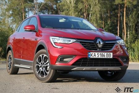 Тест-драйв Renault Arkana: «первый взгляд», первые впечатления