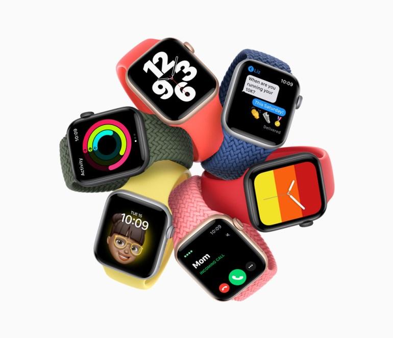 Apple Watch SE — первые доступные умные часы компании за $279