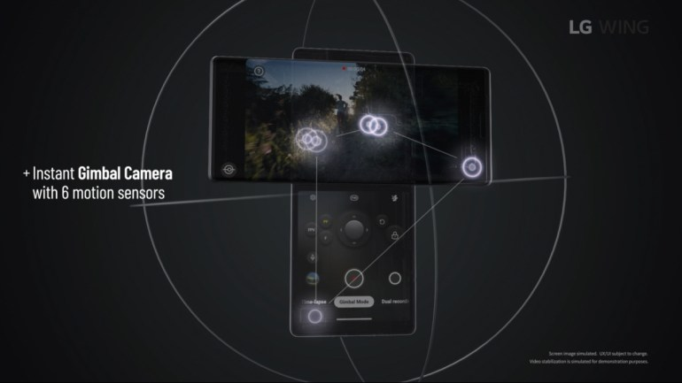 LG Wing официально анонсирован: поворотный форм-фактор, два дисплея, SoC Snapdragon 765G и Gimbal Motion Camera