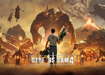 Serious Sam 4: бег спиной назад