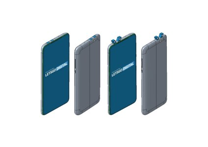 Xiaomi запатентовала дизайн смартфона с двумя выдвижными блоками камер, расположенными под углом