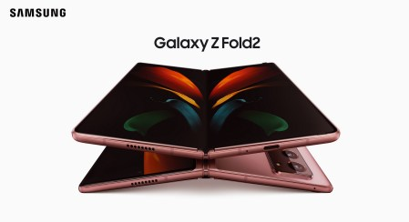 Складной смартфон Samsung Galaxy Z Fold2 с более крупными дисплеями и улучшенной камерой представлен официально