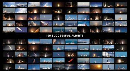 SpaceX провела юбилейный 100-й запуск [Видео]