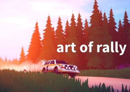 Art of Rally – искусство езды на грани