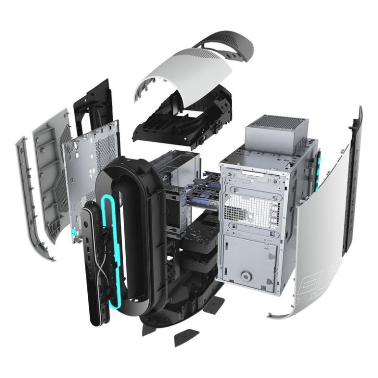 Alienware создала собственную компактную версию видеокарты GeForce RTX 3080 и новыt мониторs для геймеров