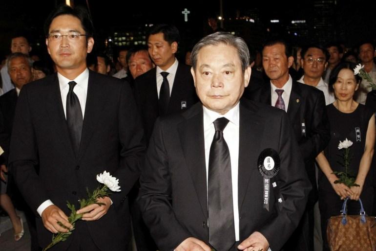 Лидер Samsung Ли Гон Хи умер в возрасте 78 лет