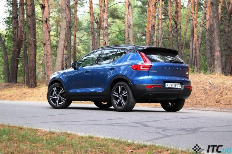 Тест-драйв Volvo XC40: электрификация из Европы – для Украины