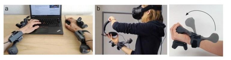 Microsoft разработала тактильный контроллерPIVOT, позволяющий почувствовать вес и сопротивление предметов вVR