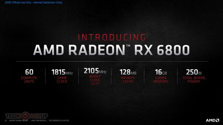 AMD представила видеокарты Radeon RX 6000 на архитектуре RDNA 2-го поколения — с удвоенной производительностью, 50% приростом энергоэффективности и поддержкой рейтрейсинга