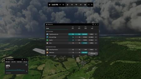 Обновлённое приложение Xbox Game Bar позволяет отслеживать процессы, потребляющие ресурсы CPU, GPU, памяти и накопителя