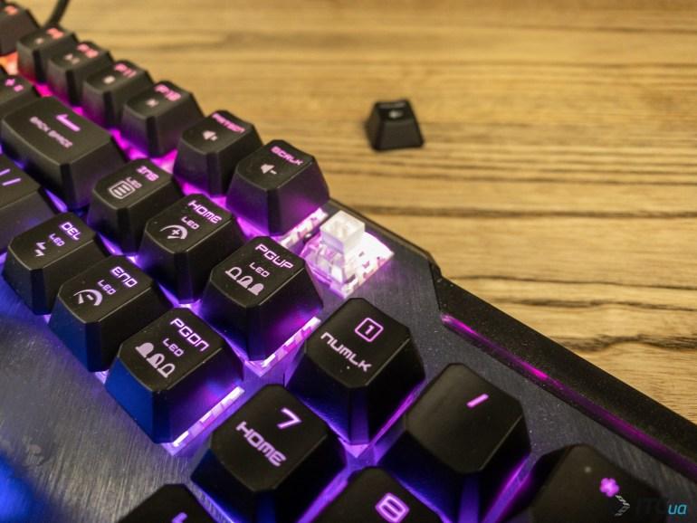 Обзор игровой механической клавиатуры MSI Vigor GK50 Elite