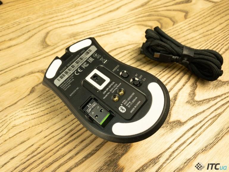 Razer DeathAdder V2 Pro — обзор игровой беспроводной мыши