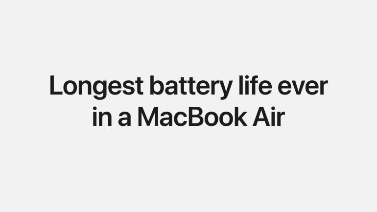 Новая эра Mac началась. Представлен MacBook Air с 5-нм SoC Apple М1, пассивным охлаждением и 18-часовой автономностью