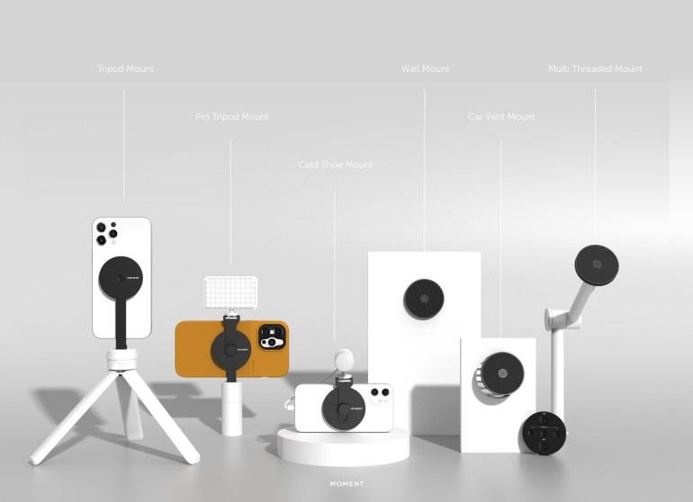 Moment анонсировала ряд чехлов, держателей и аксессуаров для iPhone 12, совместимых с MagSafe