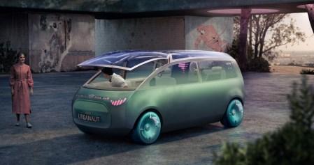 Mini Vision Urbanaut — концепт автономного электрического минивэна с трансформируемым салоном