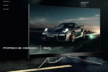 AOC и Porsche Design представили новый игровой монитор Porsche Design AOC AGON PD27 стоимостью 29999 грн