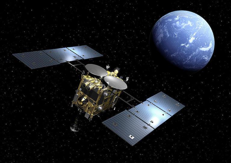 Доставка вещества астероида Рюгу станцией «Хаябуса-2», стыковка взлетного и служебного модулей «Чанъэ-5» и первый полет грузовика Dragon 2 миссии SpaceX CRS-21 [Дайджест космических новостей за выходные]