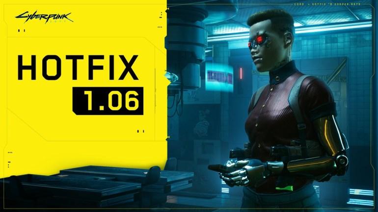 Обновление Cyberpunk 2077 1.06 устраняет проблему с повреждением файлов сохранения