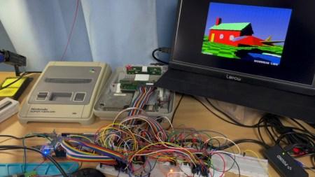 Энтузиаст реализовал трассировку лучей в реальном времени на игровой консоли SNES, вышедшей 30 лет назад