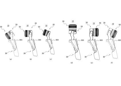 Canon запатентовала камеру в стиле Osmo Pocket, позволяющую использовать сменные объективы