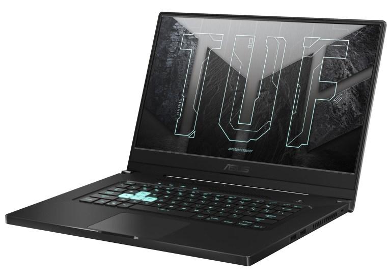 ASUS выпустила тонкий и лёгкий игровой ноутбук TUF Dash F15 с процессорами Intel 11-го поколения