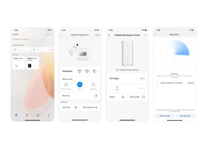 На iOS вышло приложение Huawei AI Life для управления наушниками FreeBuds Pro и другими умными устройствами компании