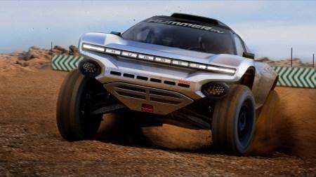 К гоночной серии электровнедорожников Extreme E присоединился бывший пилот F1 Дженсон Баттон и шоу-кар GMC Hummer EV