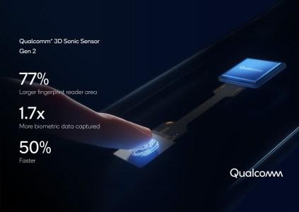 Qualcomm анонсировала второе поколение ультразвукового дактилоскопа 3D Sonic Sensor: он крупнее, точнее и работает со складными устройствами