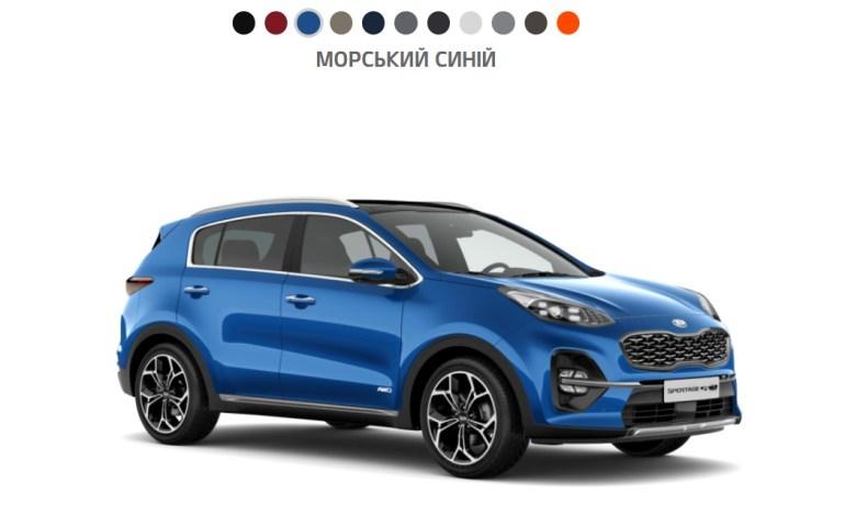Какой цвет автомобиля чаще всего выбирали украинцы в 2020 году? (модели-лидеры для каждого цвета)