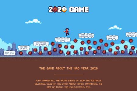 Вышла игра 2020 Game о событиях минувшего года