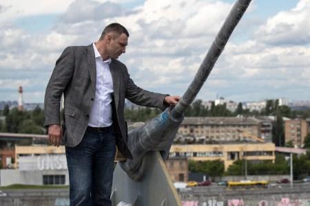 Віталій Кличко: Передача Подільсько-Воскресенського мосту на баланс «Укравтодору» значно відтермінує добудову об'єкту