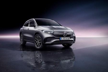 В Украине стартуют продажи компактного электрокроссовера Mercedes-Benz EQA — 1,26 миллиона гривен за базовую комплектацию