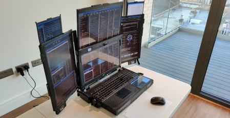Ноутбук Aurora 7 получил 7 дисплеев, до 128 ГБ ОЗУ, батарею ёмкостью 230 Втч и массу почти 12 кг