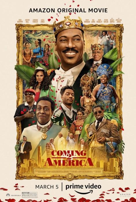 Комедия Coming 2 America / «Поездка в Америку 2» с Эдди Мерфи выйдет на экраны через месяц - спустя 33 года после премьеры первой части [трейлер]