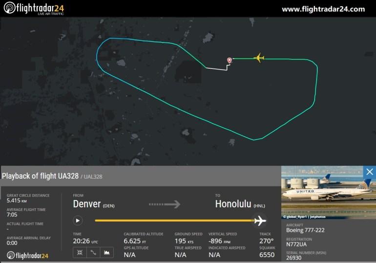 У самолёта Boeing 777-200 загорелся двигатель вскоре после взлёта, полёты таких самолётов приостановлены