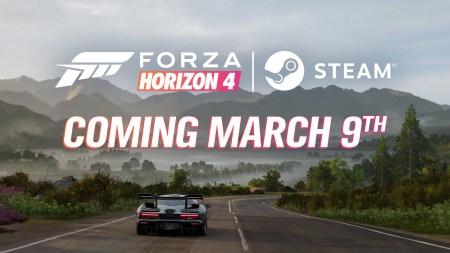 Forza Horizon 4 выйдет в Steam 9 марта