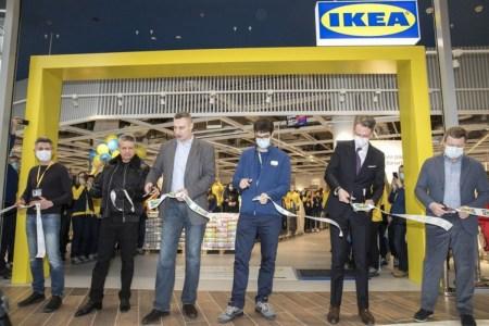 Віталій Кличко взяв участь у відкритті першого в Україні магазину IKEA [фотогалерея]