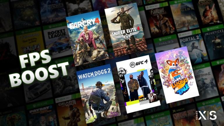 Xbox Series теперь поддерживают функцию FPS Boost — она удваивает фреймрейт в играх по обратной совместимости (пока таких всего пять)