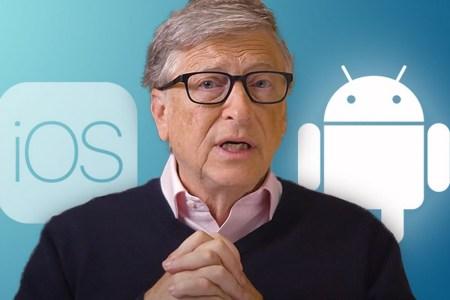 Билл Гейтс заявил, что предпочитает Android ввиду большей «гибкости» операционной системы Google