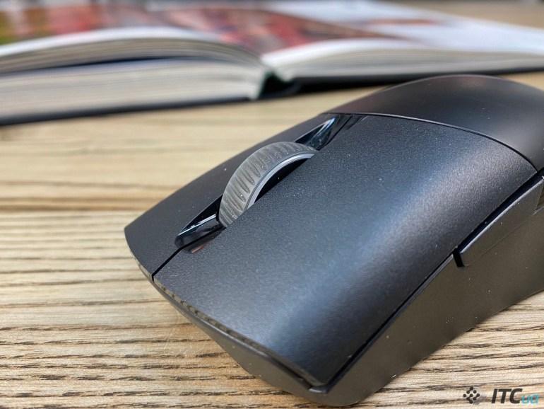 ROG Keris Wireless - обзор беспроводной игровой мыши ASUS